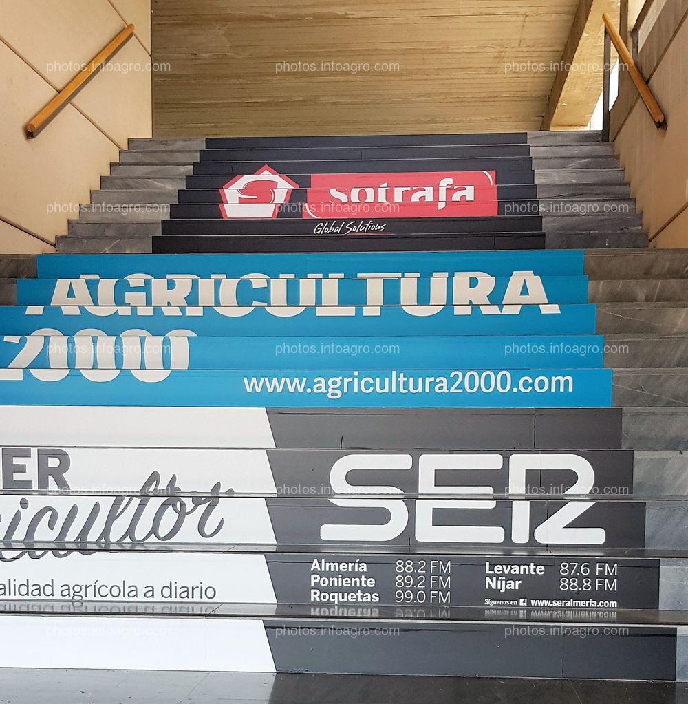 Escaleras exteriores. Cadena Ser, Sotrafa