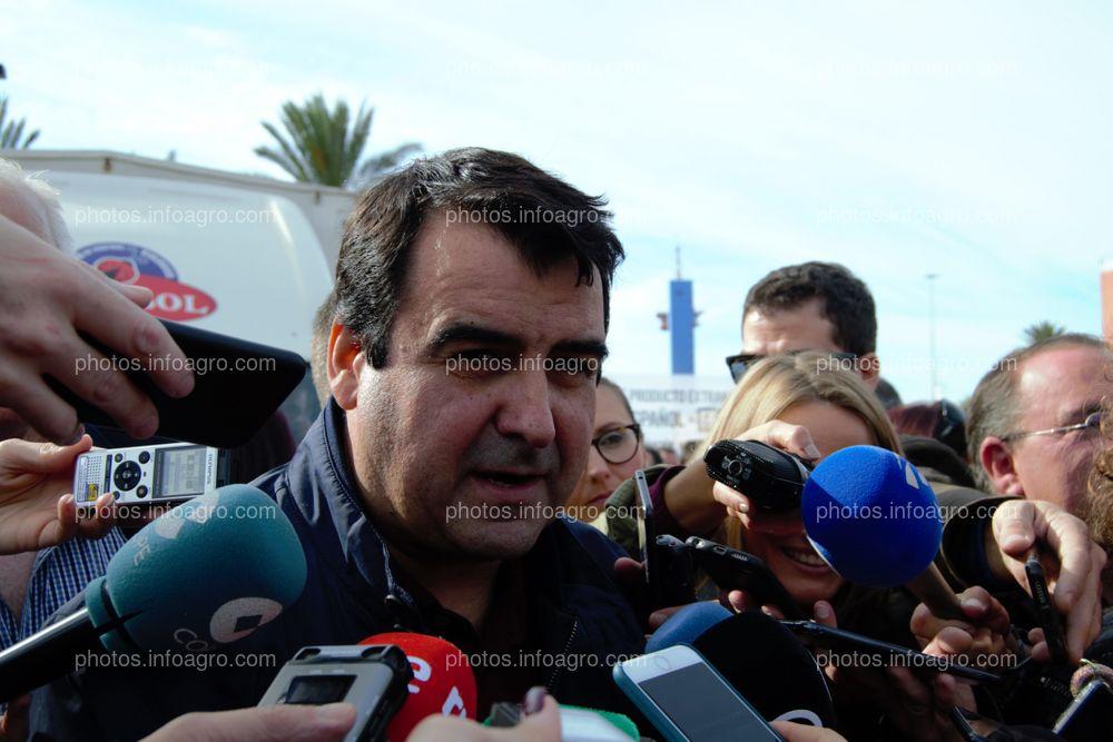 Andrés Góngora, secretario general de COAG Almería