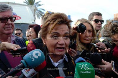 Francisca Iglesias, secretaria general de UPA Almería
