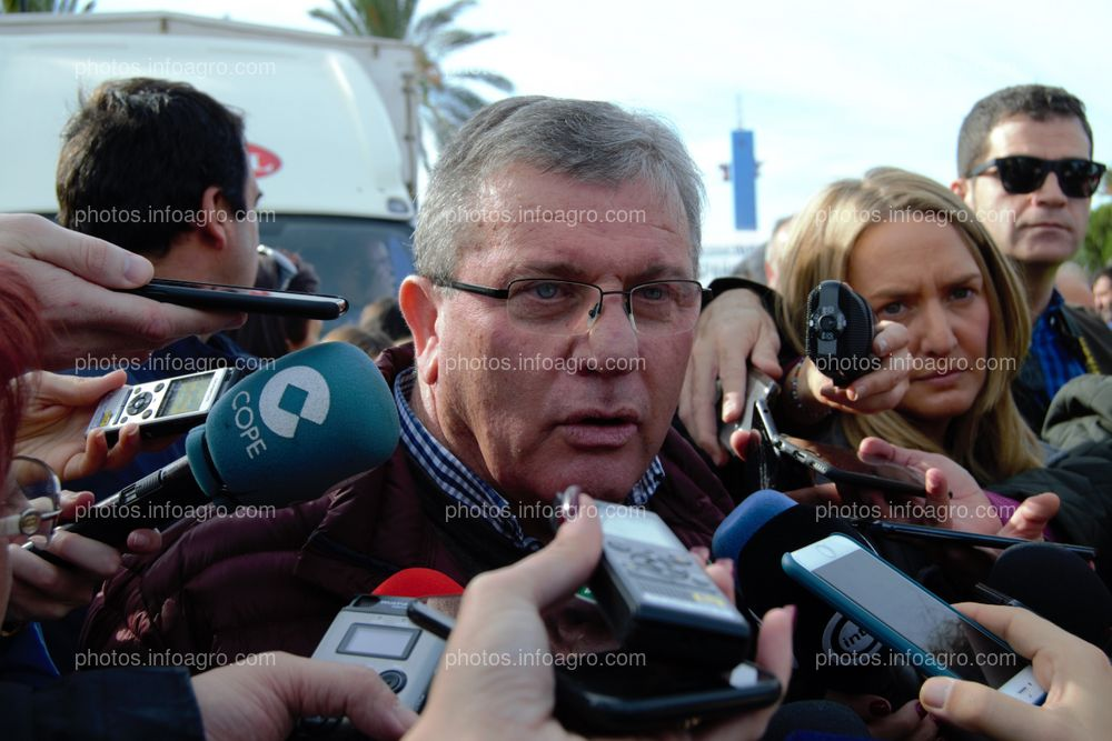 Juan Antonio Gonzáles Real, presidente de COEXPHAL