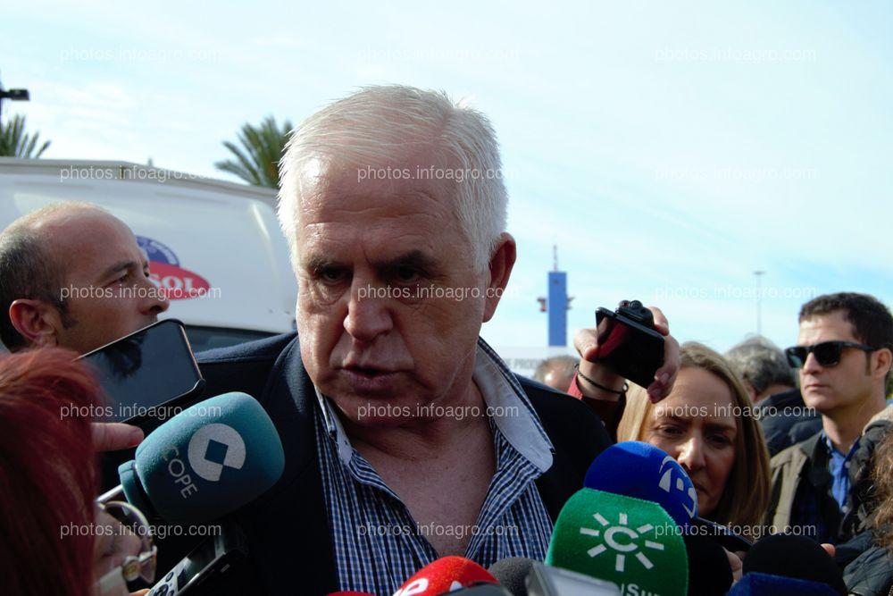 Miguel López, secretario general de COAG Andalucía