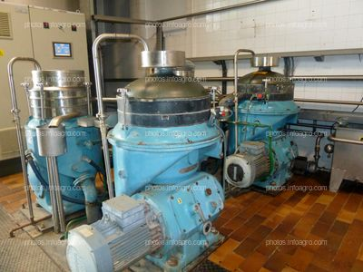 Detalle centrifugadora horizontal trujal