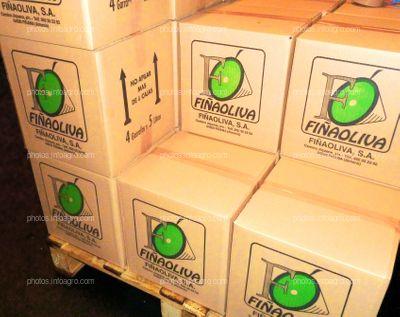 Empaquetado de aceite de oliva