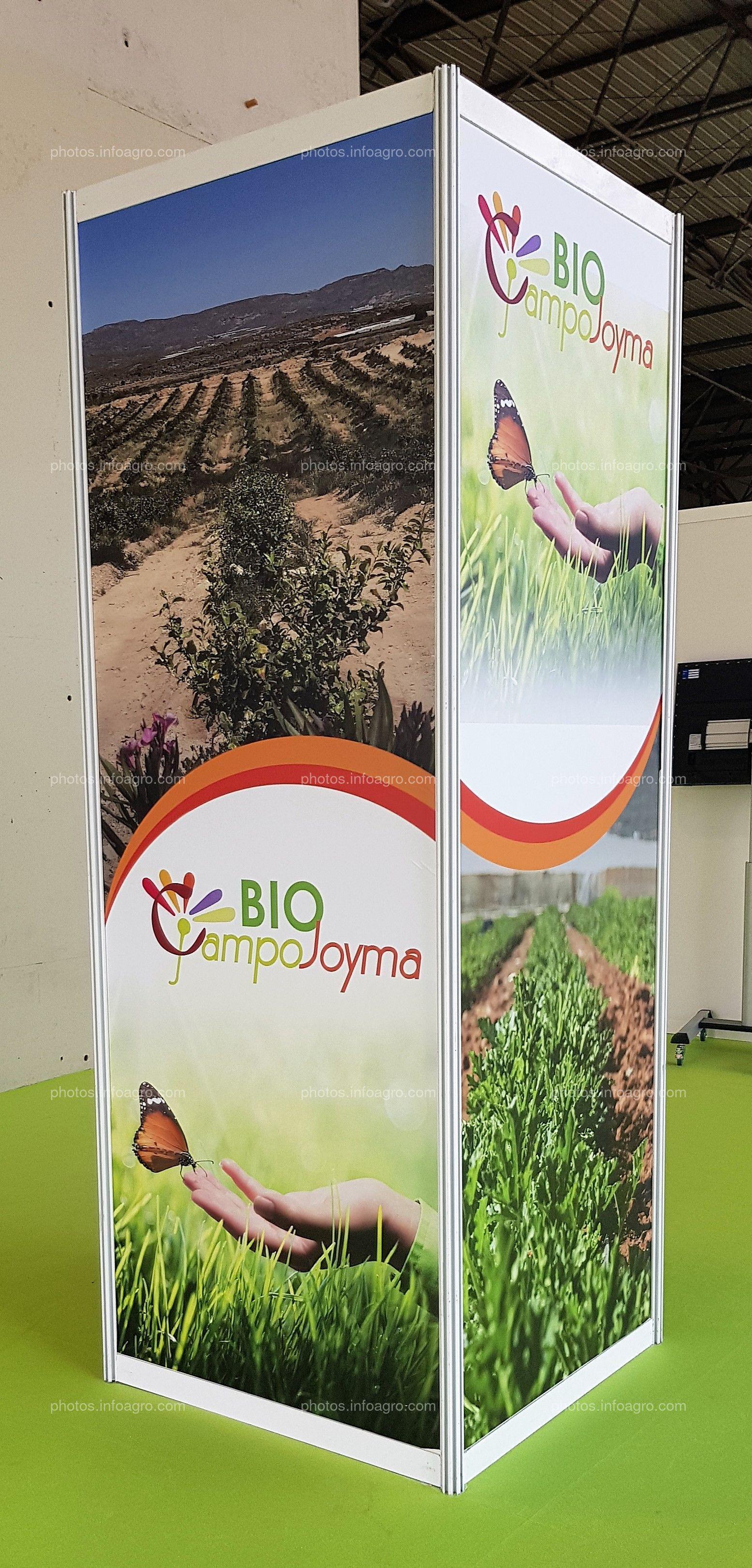 Bio CampoJoyma. Prisma columna. Espacio publicitario
