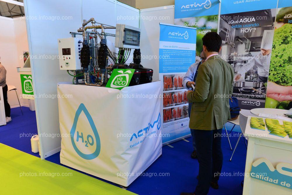 ActivH2O - Stand en Infoagro Exhibition