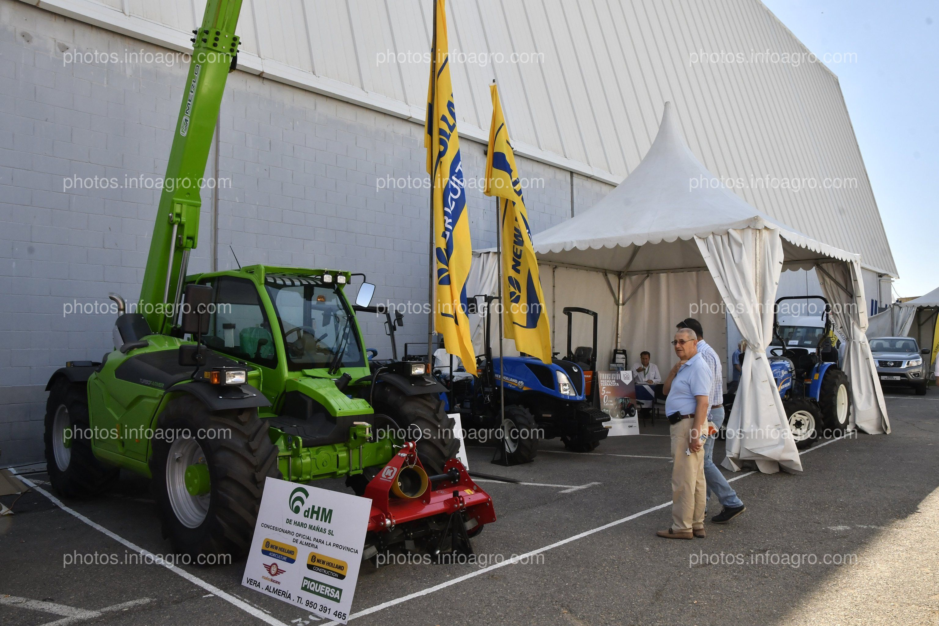 Agrichico Maquinaria - Stand en Infoagro Exhibition