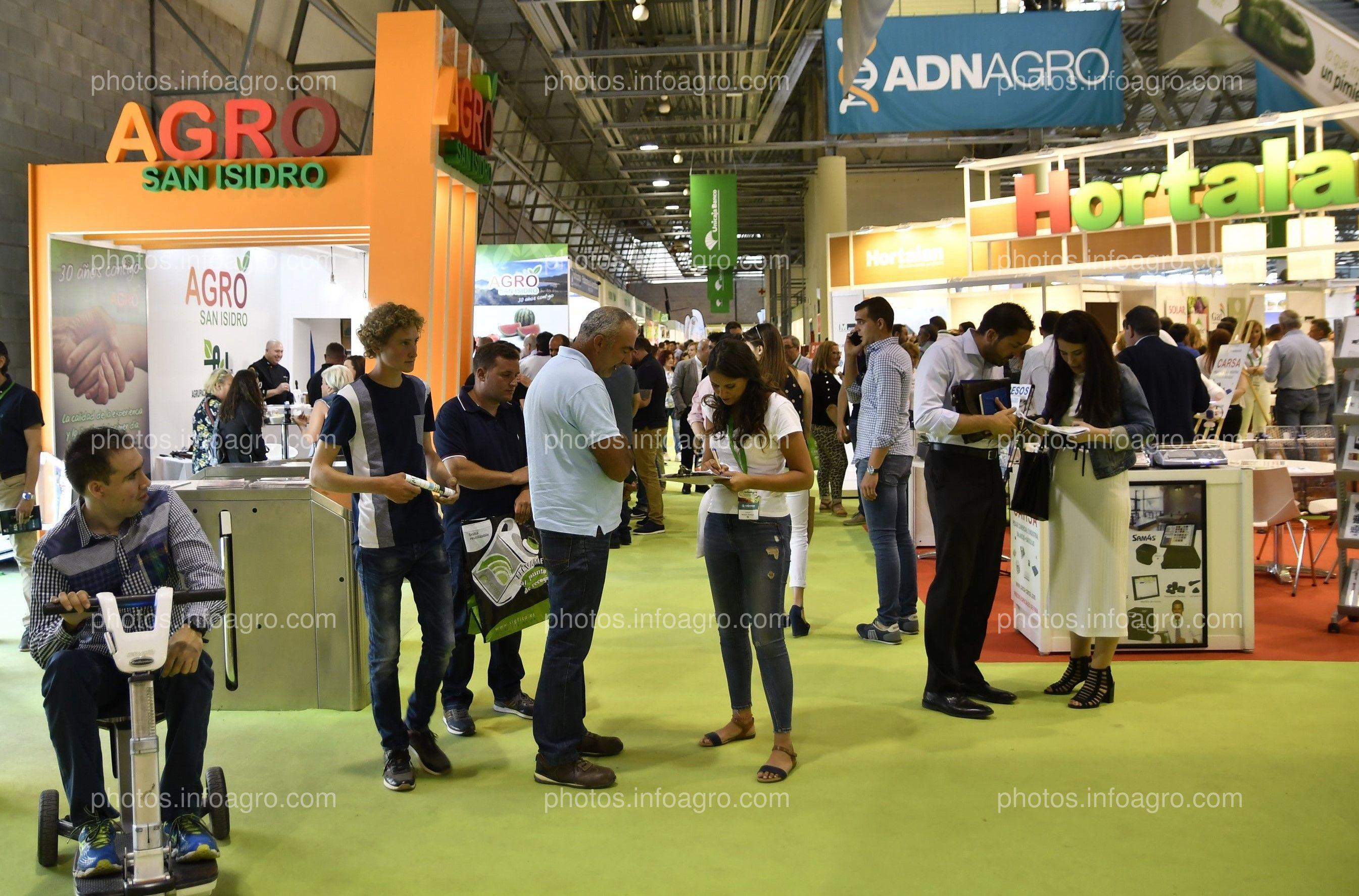 Agro San Isidro- Stand en Infoagro Exhibition