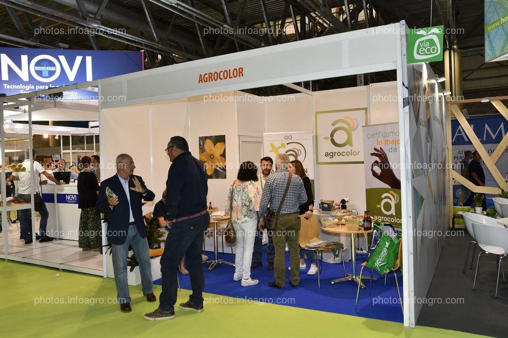 Agrocolor - Stand en Infoagro Exhibition