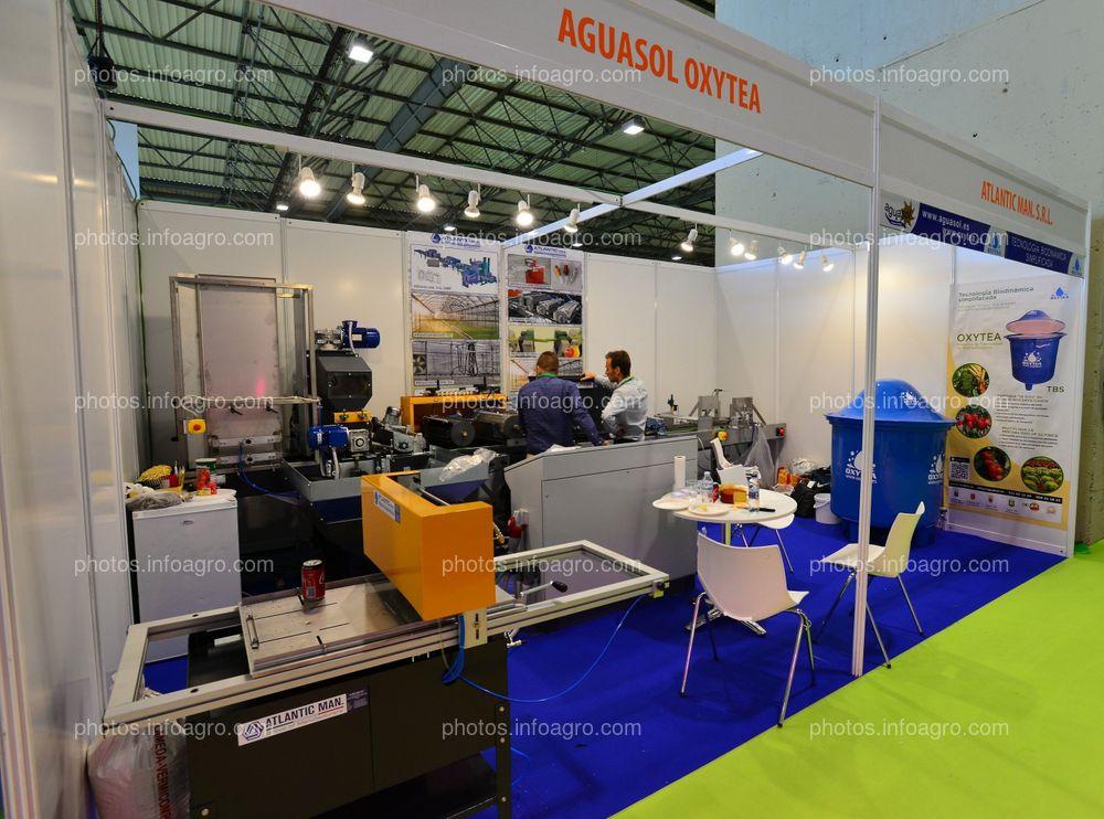 Aguasol Rizo y Atlantic Man. - Stand en Infoagro Exhibition