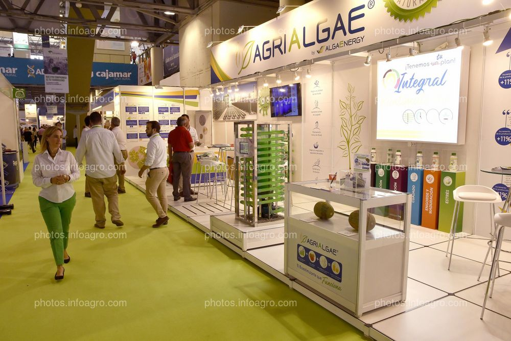 Alga Energy - Stand en Infoagro Exhibition