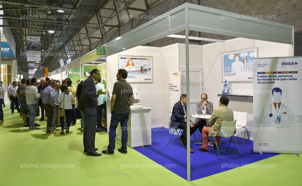 Asisa - Stand Infoagro Exhibition