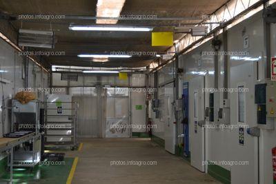 Parte de las instalaciones del centro de producción de Koppert en Águilas
