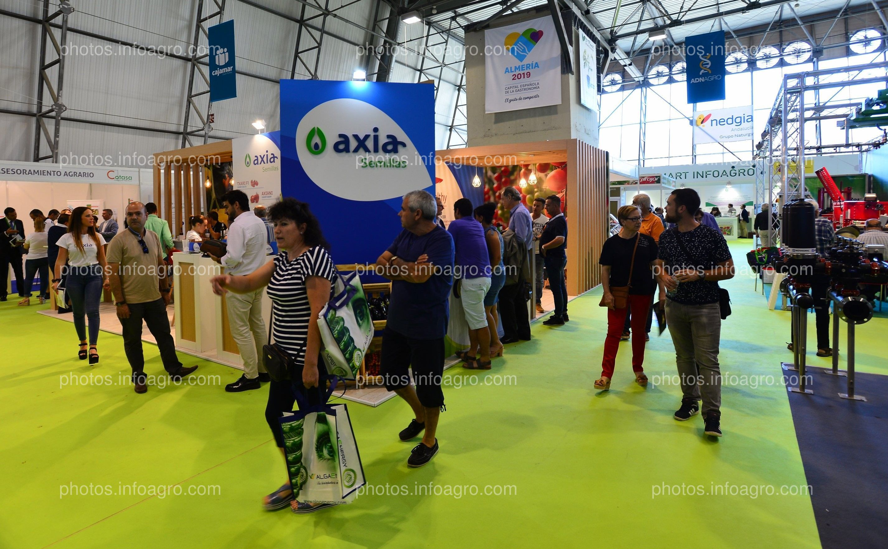 Axia Seeds - Stand Infoagro Exhibition