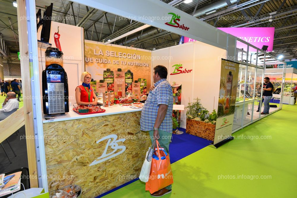 Biosabor - Stand Infoagro Exhibition