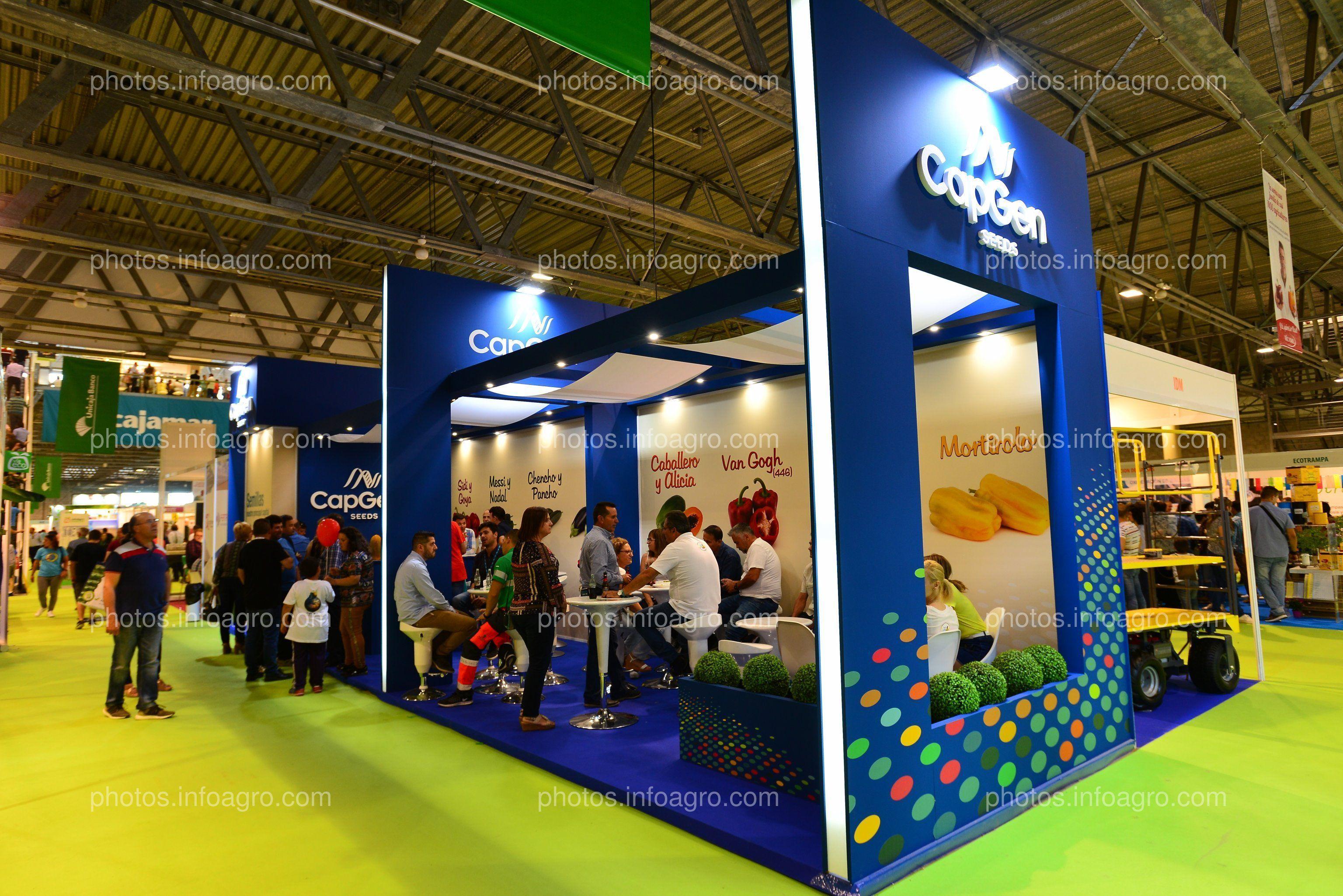 Capgen Seeds - Stand Infoagro Exhibition