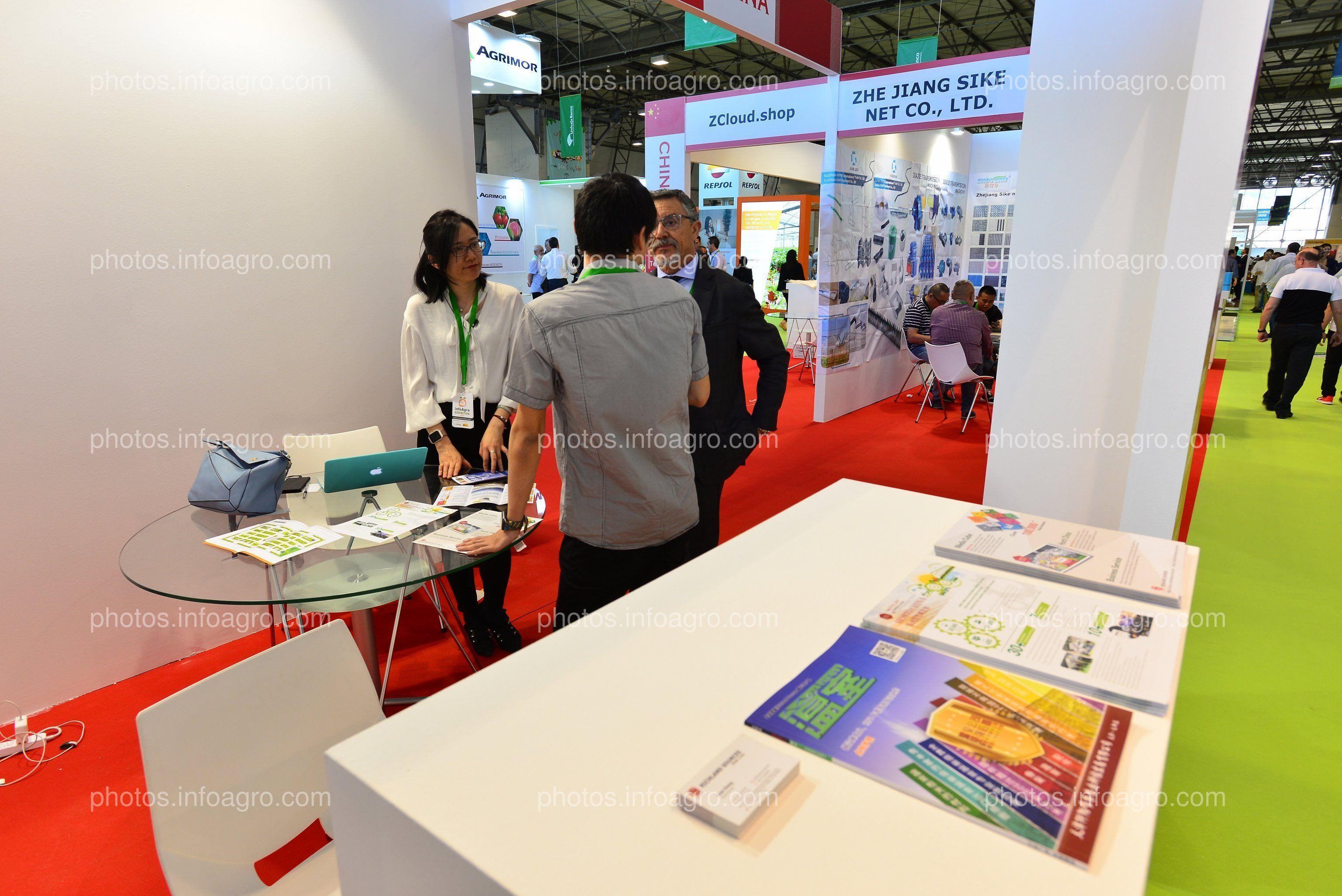 China Pavilion - Stand Infoagro Exhibitione