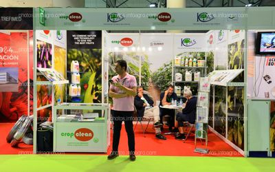 Cropclean - Stand Infoagro Exhibition