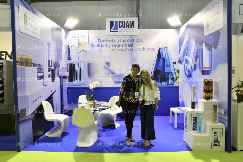 CUAM - Stand Infoagro Exhibition