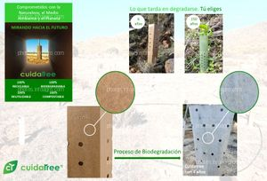 dqagro el Distribuidor Nº1 del Campo de Cartagena acuerda con Cuidatree la distribución de sus Protectores Ecológicos.