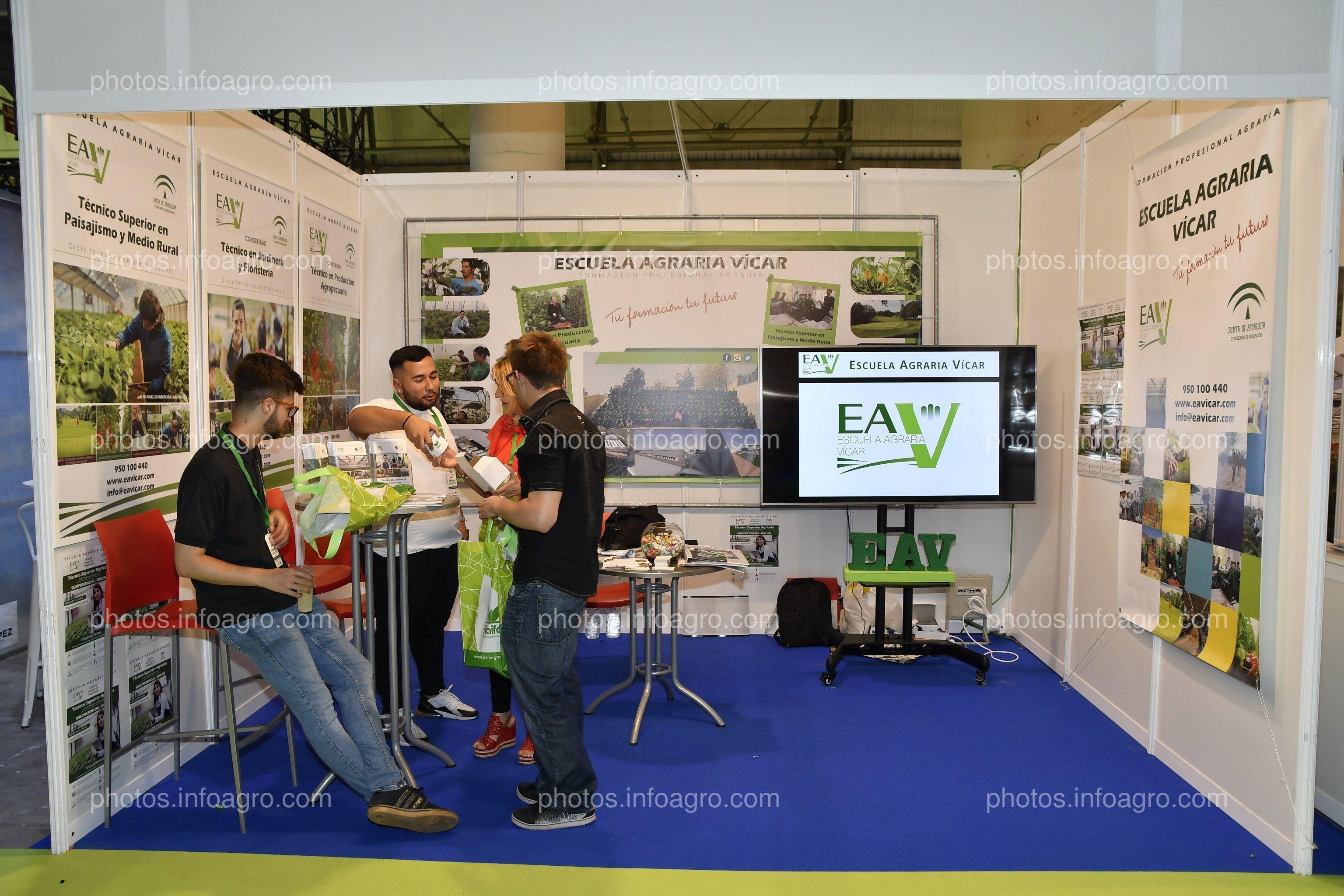 Escuela Agraria de Vícar - Stand Infoagro Exhibition