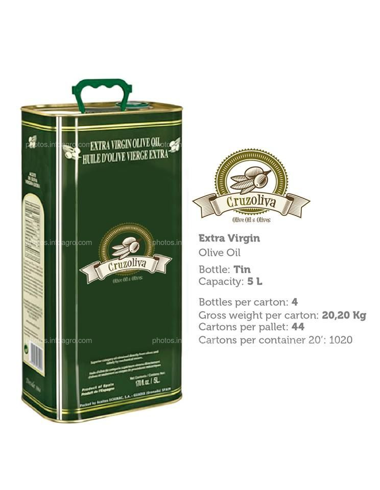 Aceite de oliva Virgen Extra Latas
