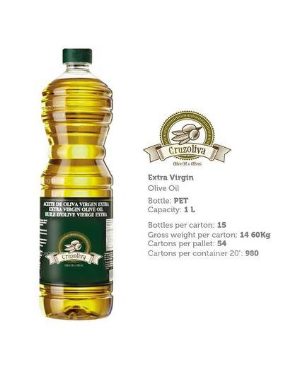 Aceite de oliva Virgen Extra pet 1 l