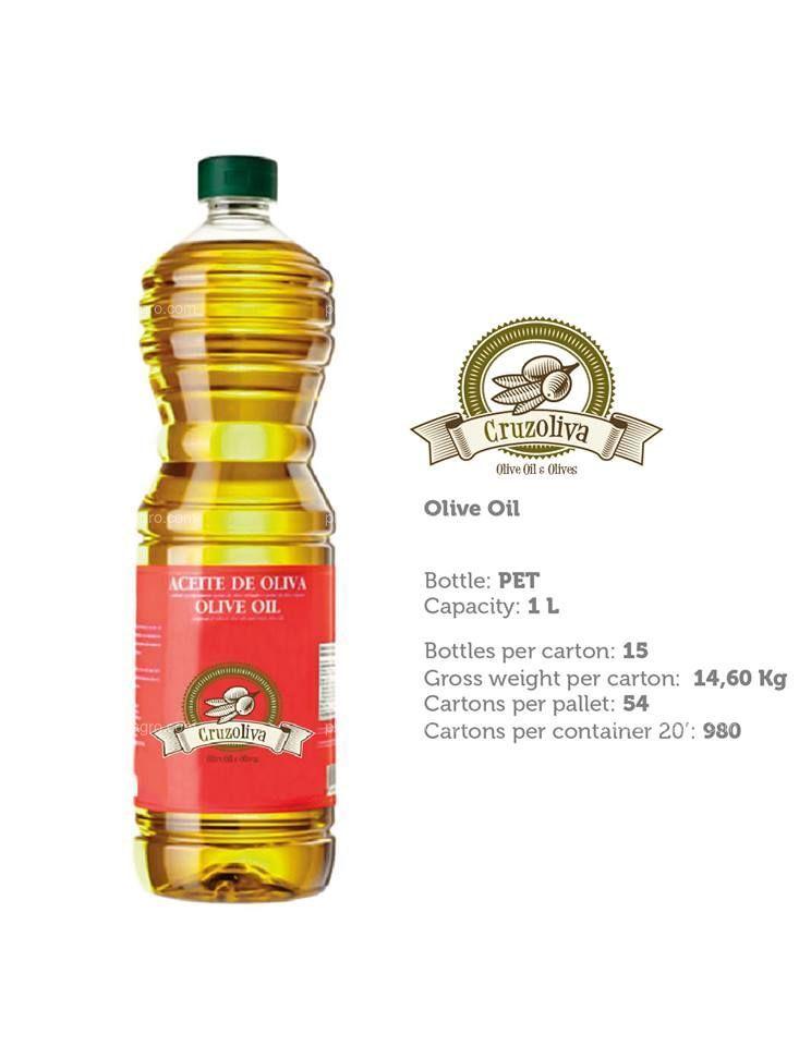 Aceite de oliva pet 1 l