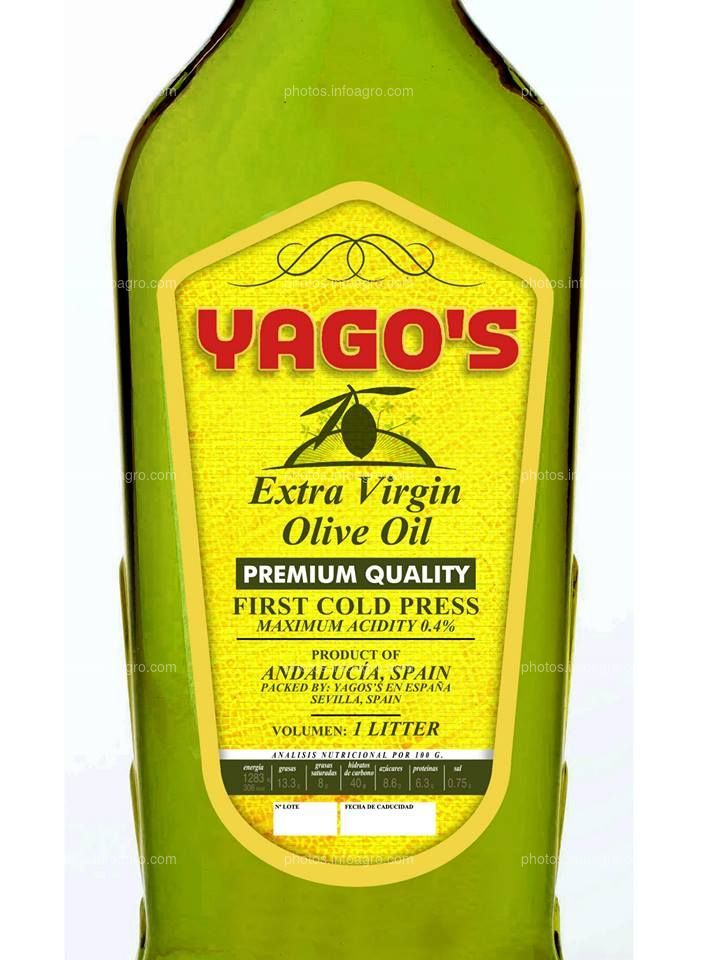 Yagos Aceite de Oliva Virgen Extra