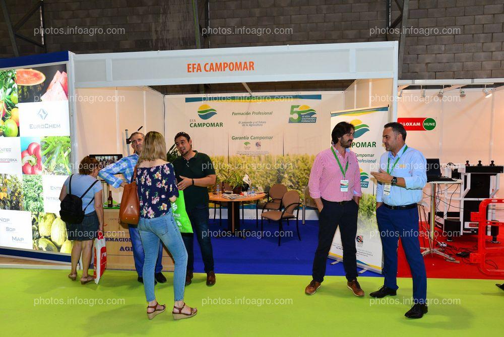 EFA Campomar - Stand Infoagro Exhibition