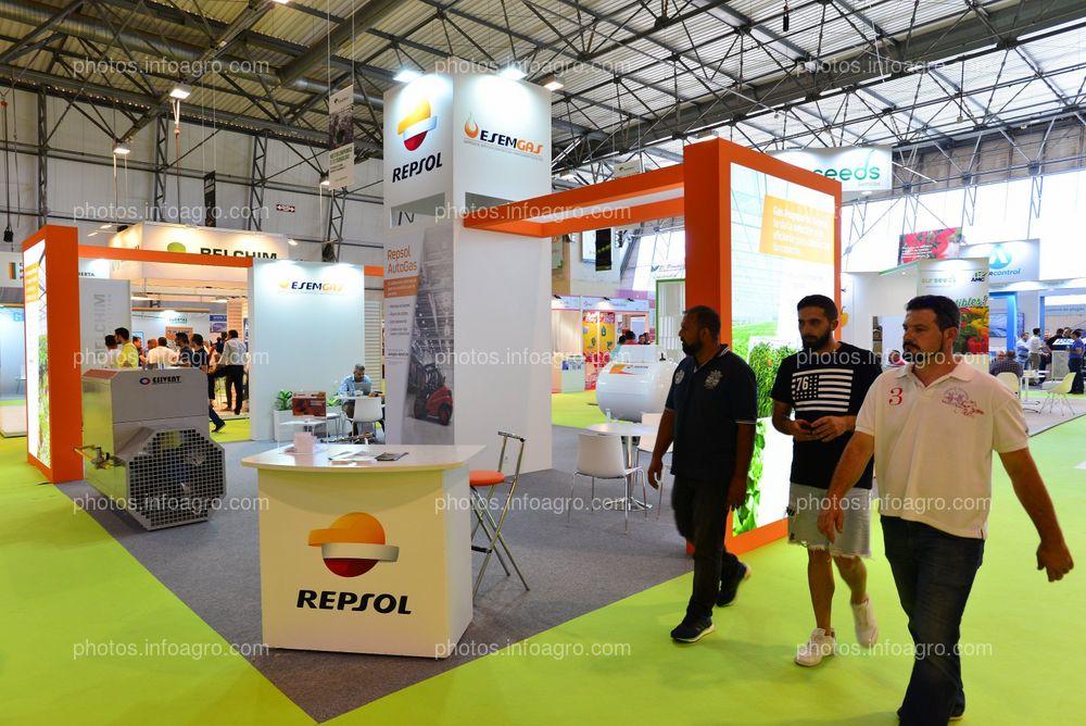 Repsol Esemgas - Stand Infoagro Exhibition