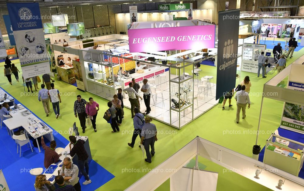 Eugen Seed - Stand Infoagro Exhibition