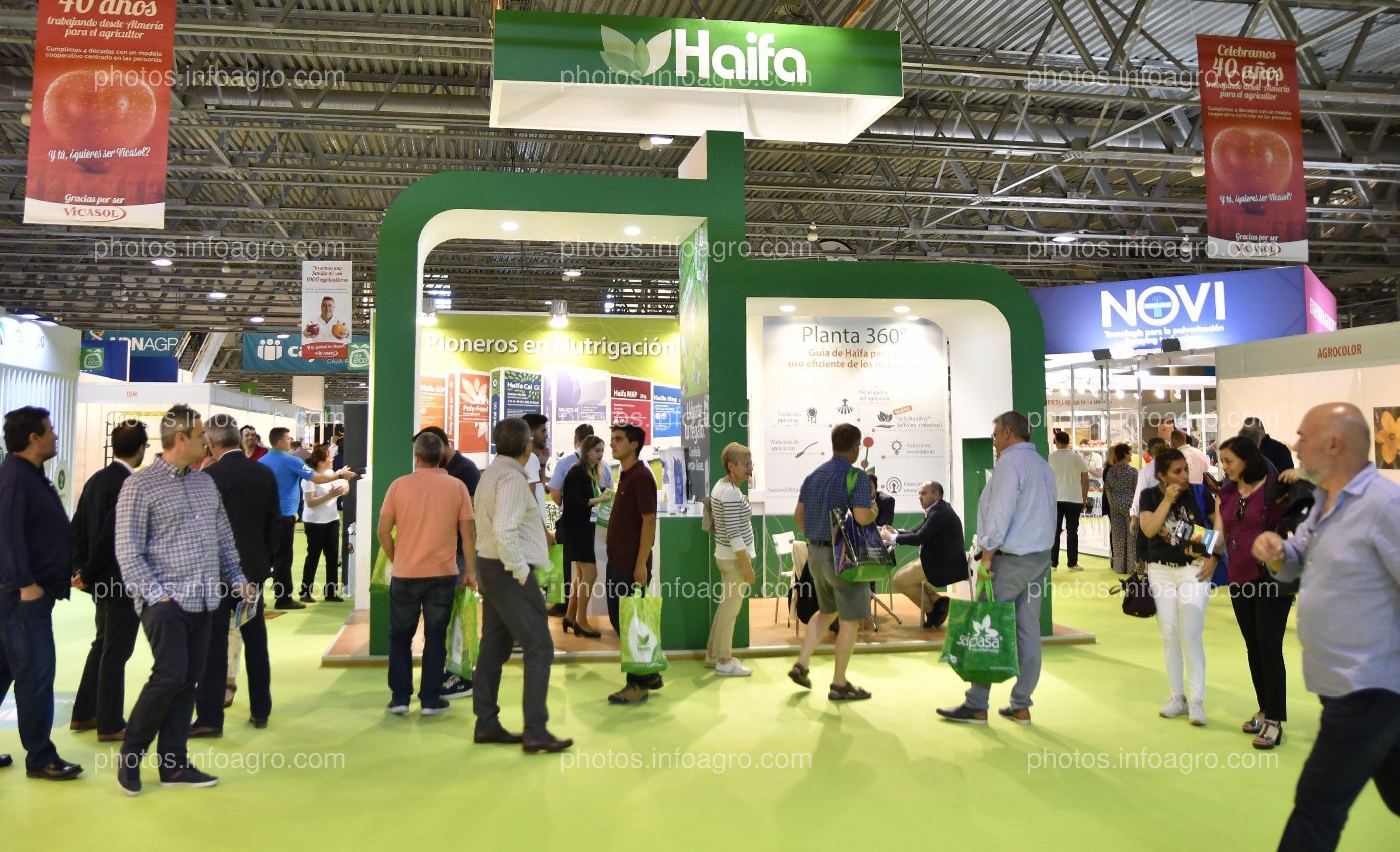 Haifa - Stand Infoagro Exhibition