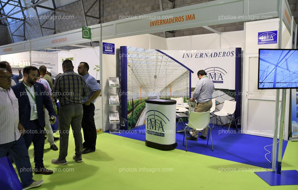 Invernaderos IMA - Stand Infoagro Exhibition