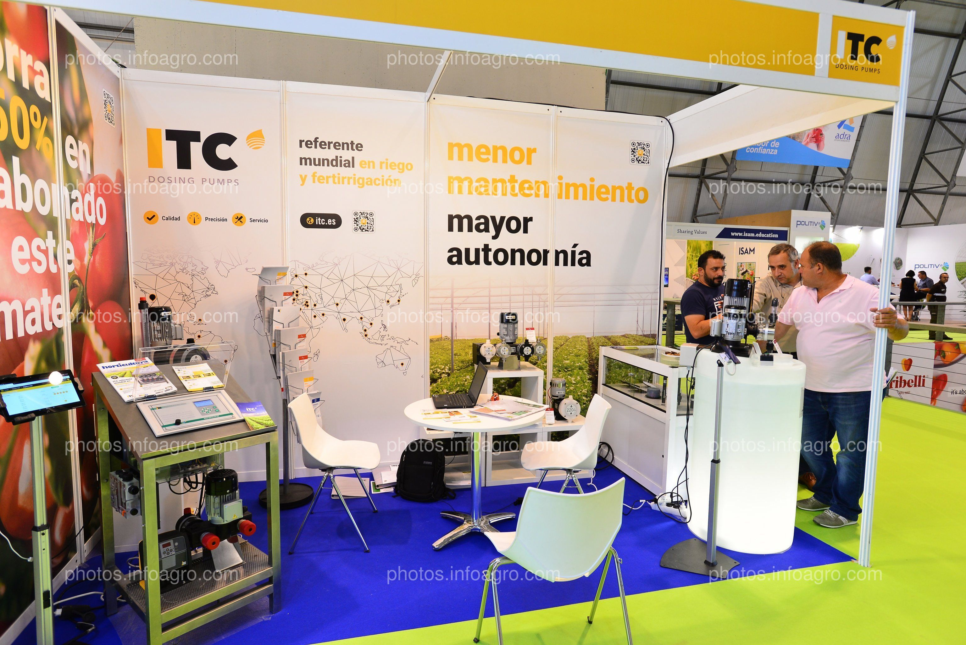 ITC - Stand Infoagro Exhibition