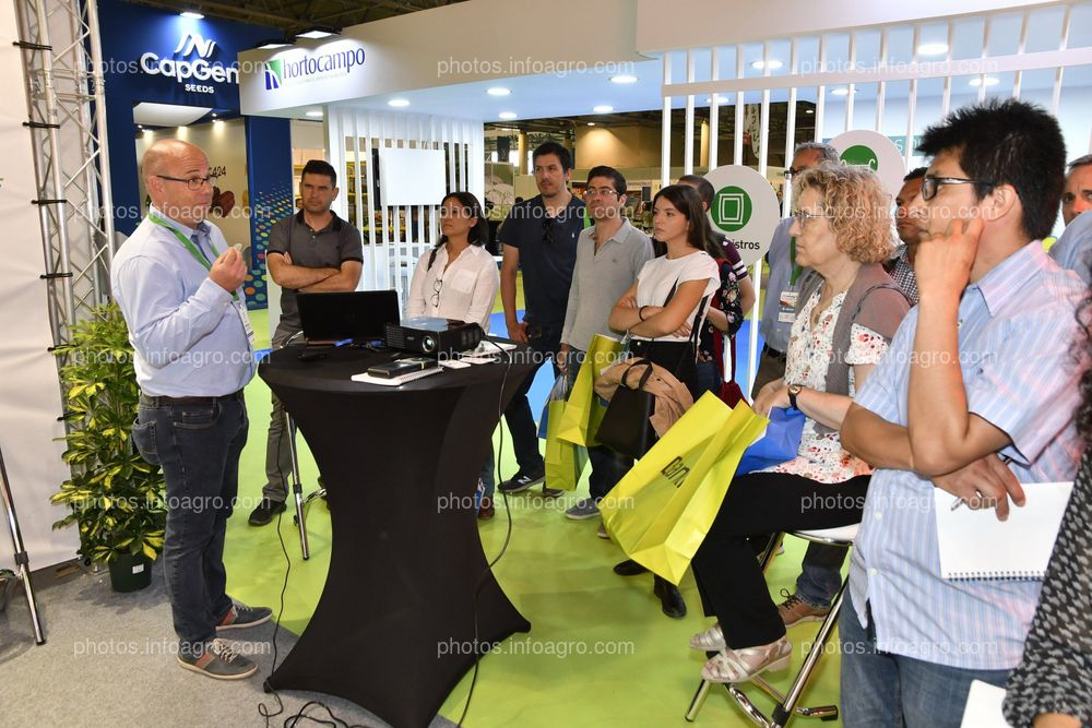 Mechatronix y Olfer - Stand Infoagro Exhibition