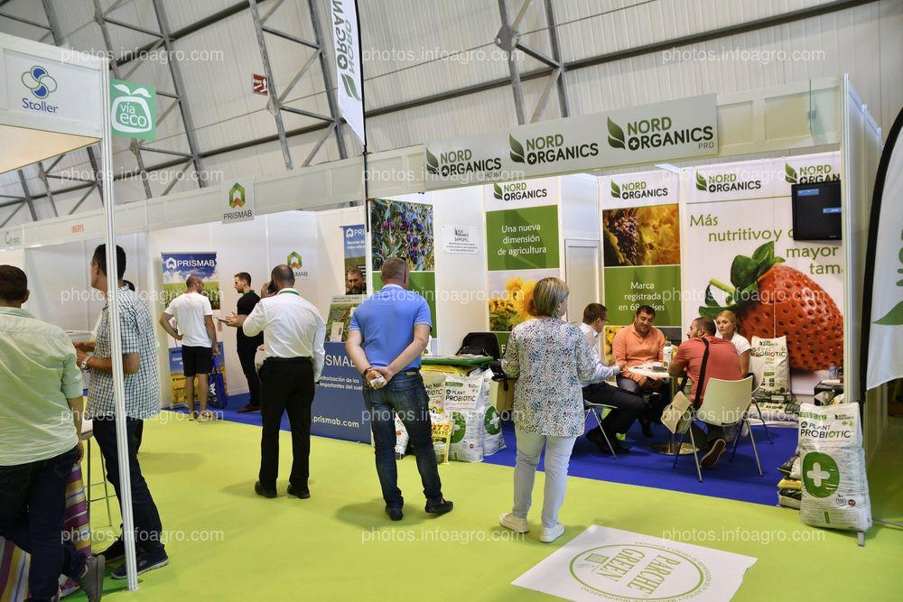 Nord Organics - Stand Infoagro Exhibition