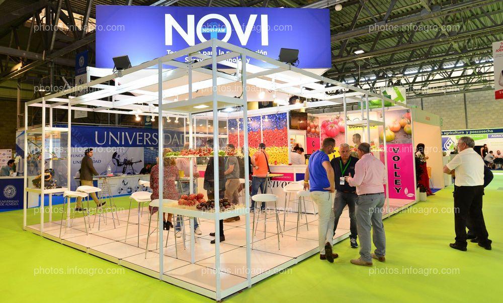 NoviFam - Stand Infoagro Exhibition