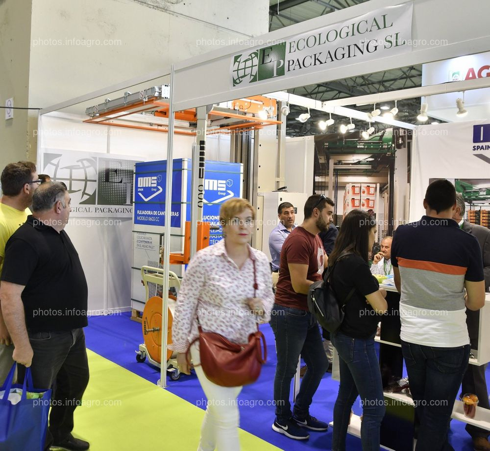 Grupo OMS y Ecological Packaging- Stand Infoagro Exhibition