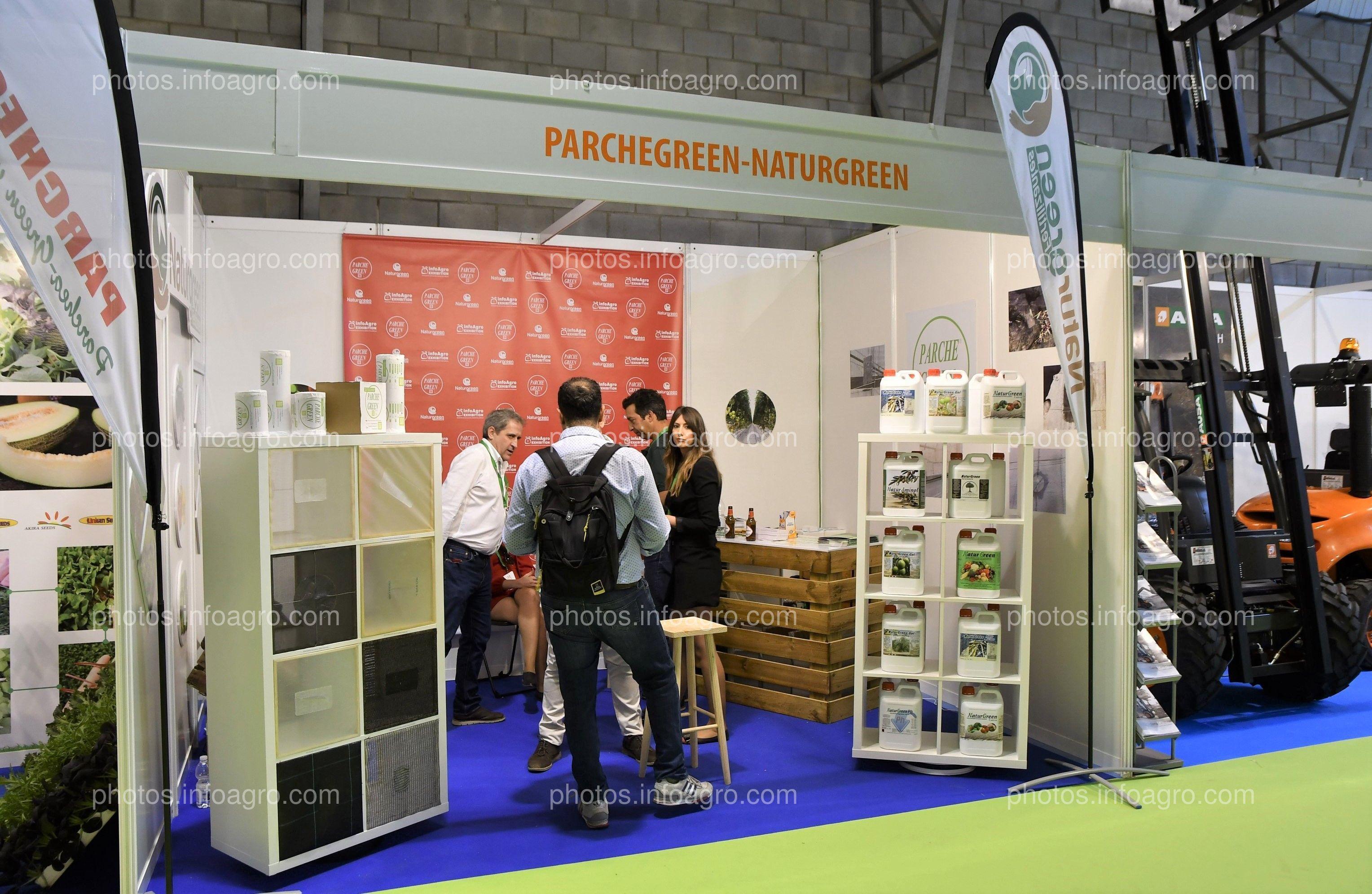 Parchegreen y Naturgreen - Stand Infoagro Exhibition