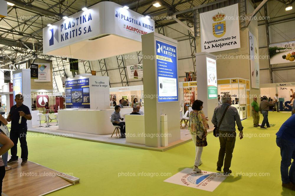 Plastika Kritis y Agripolyane - Stand Infoagro Exhibition