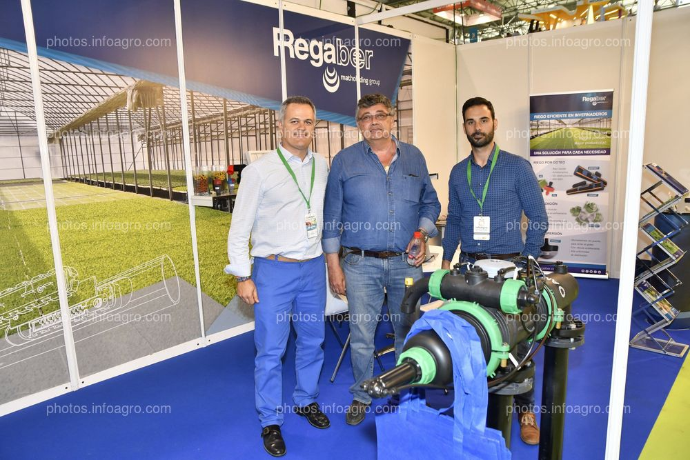 Regaber - Stand Infoagro Exhibition