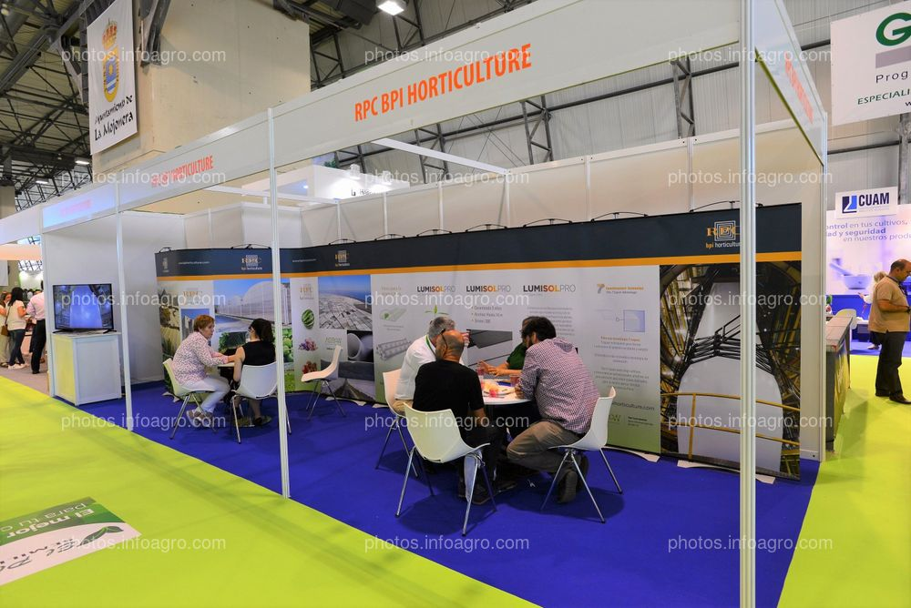 RCP BPI Horticulture - Stand Infoagro Exhibition