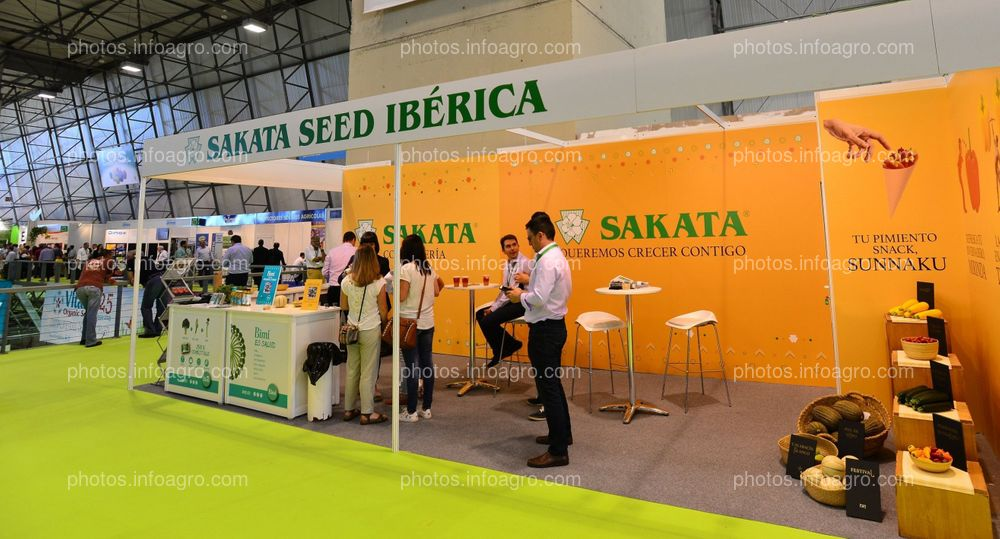 Sakata - Stand Infoagro Exhibition