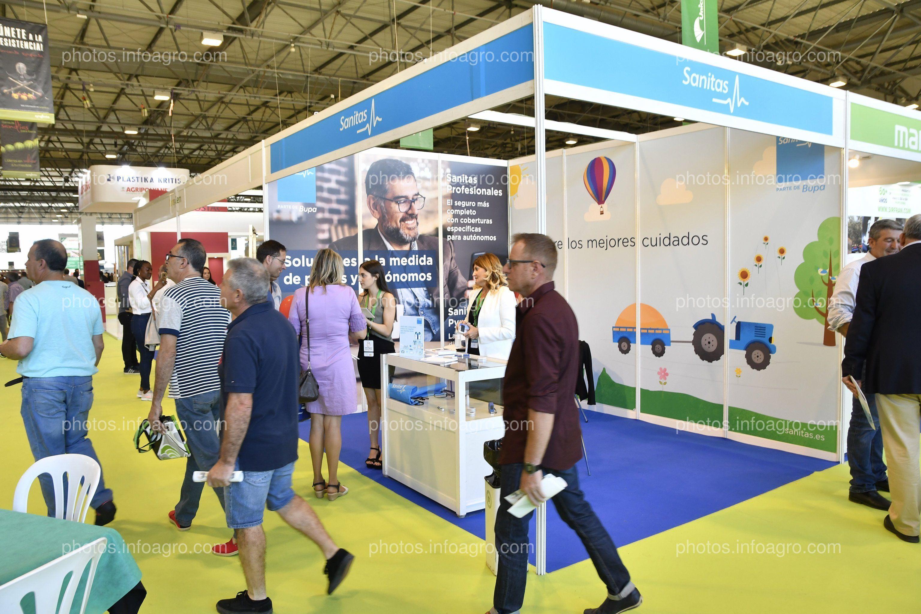 Sanitas - Stand Infoagro Exhibition