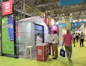 Speed Door - Stand Infoagro Exhibition