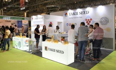 Takii Seed - Stand Infoagro Exhibition