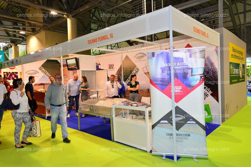 Techno Teonel - Stand Infoagro Exhibition