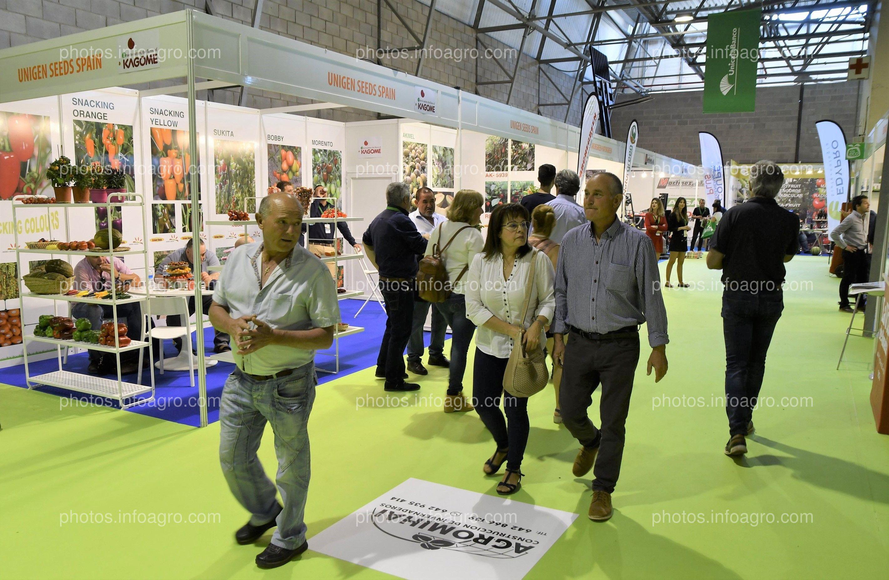 Unigen Seeds - Stand Infoagro Exhibition