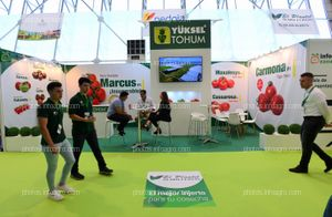 Yuksel Seed - Stand Infoagro Exhibition