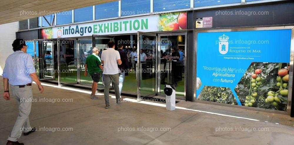 Entrada principal - Espacios publicitarios Infoagro Exhibition